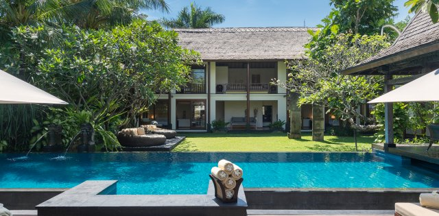 Villa Ramadewa, Private swimming pool